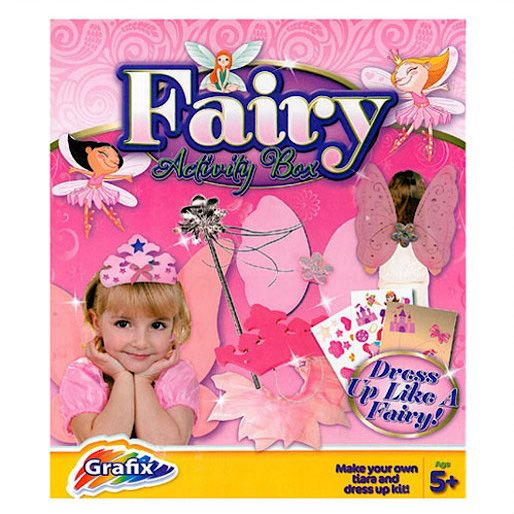 Grafix Fairy Tiara and Dress Up Activity Box