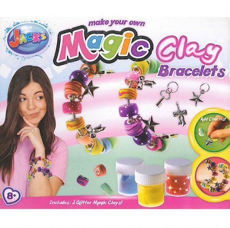 Jacks Make Your Own Magic Clay Bracelets