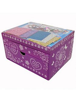 Jacks Mosaic Sparkling Jewellery Box