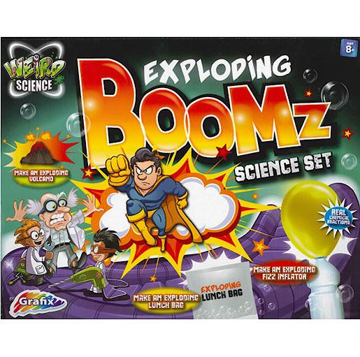 Exploding Boomz Weird Science Set