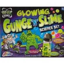 Weird science glowing gunge n slime set