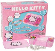 Hello Kitty Hello kitty colour changing jewellery with storag