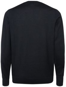 V-neck pullover jumper