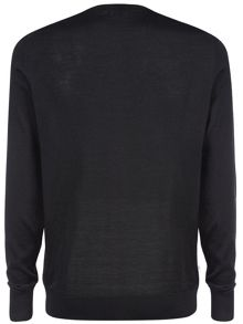 Crew neck pullover jumper