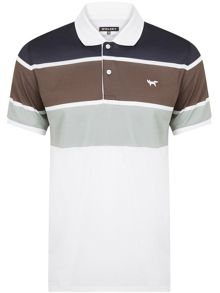 Wolsey Three Colour Stripe Polo