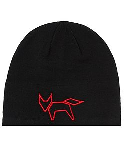 Fox Wool Beanie Hat