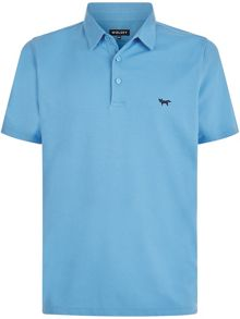 Wolsey Plated pique polo