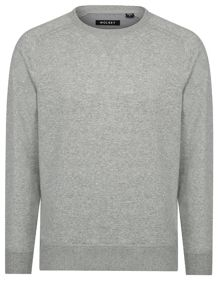 Wolsey Brushed Plain Crew Neck Pull Over Jumpers