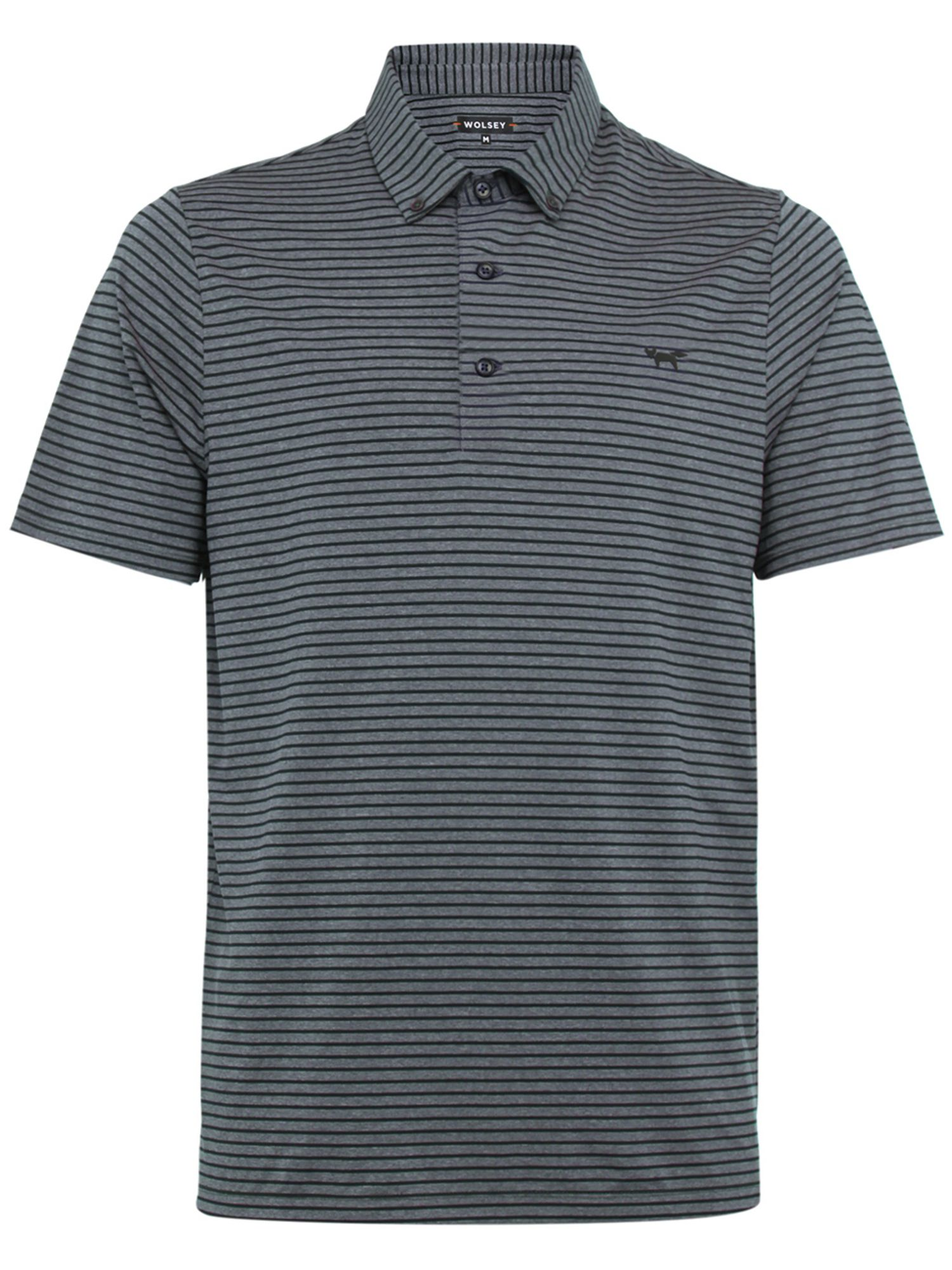 Men's Wolsey Slim Stripe Polo, Blue