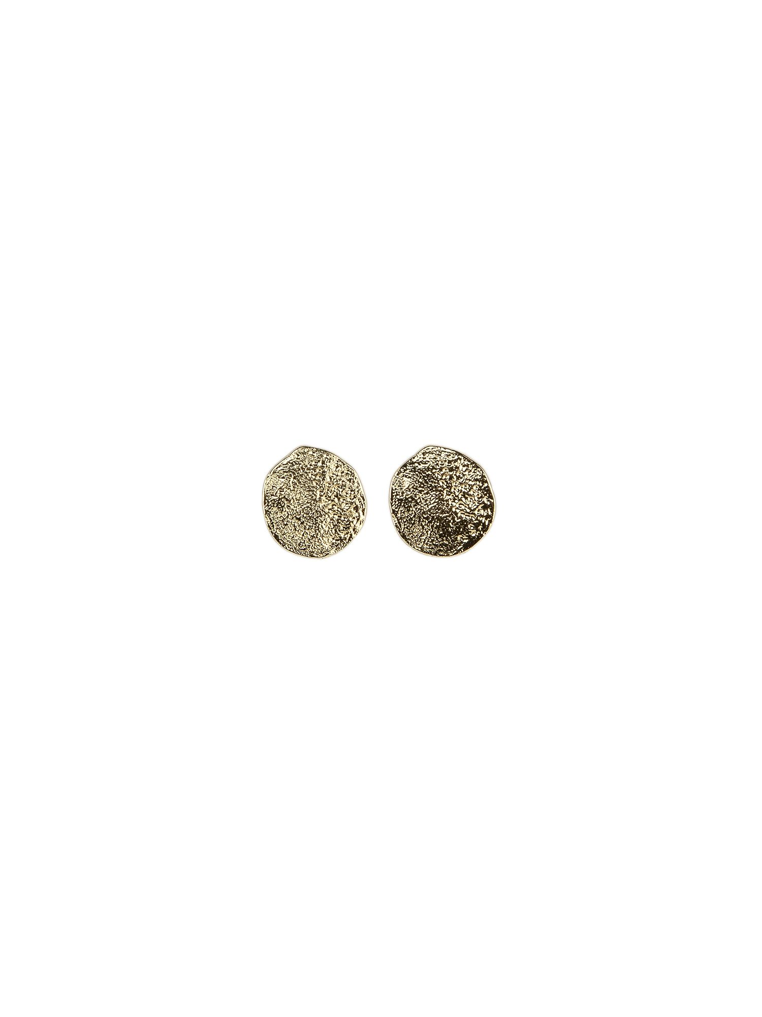 Tutti & Co Cave Earrings, Gold