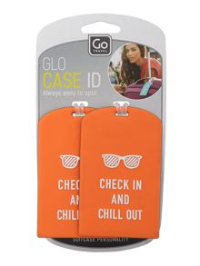 Travel glo case id