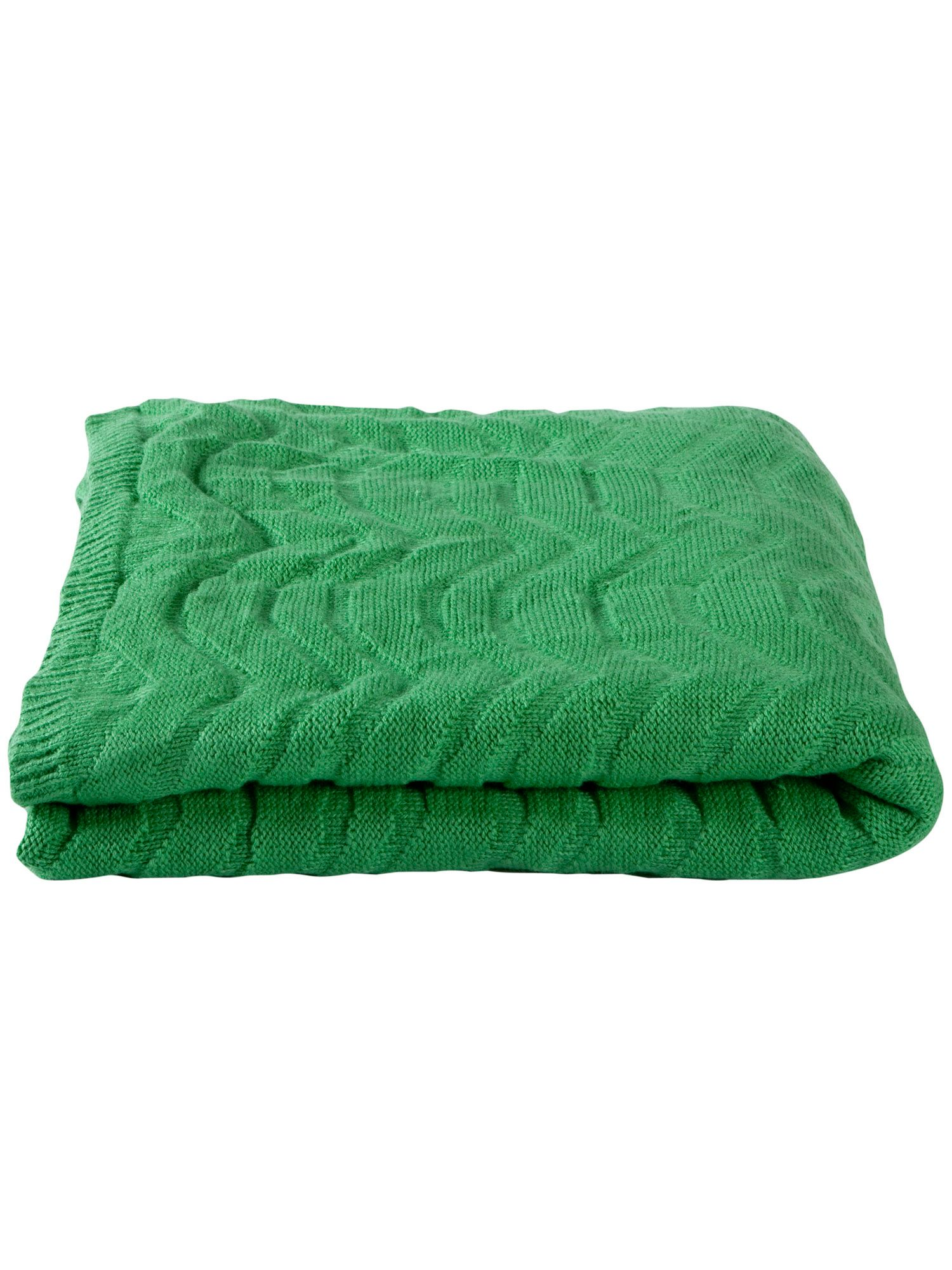 Wavey throw  one size green