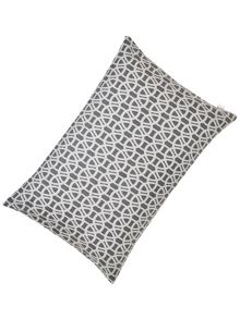 Scion Lace stripe pillow case housewife pair slate
