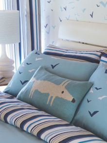 Scion Mr fox cushion 30x50cm lagoon
