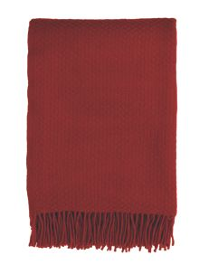 Hampton wool  blanket one size red