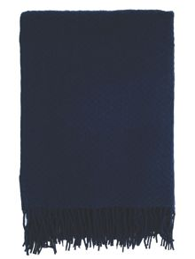 Hampton wool blanket one size navy