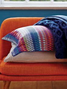 Array stripe pillow case oxford multi