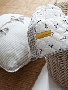 Joules Small boats throw 150x200cms boats