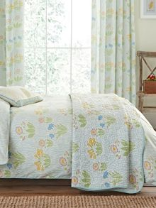 Cowslip throw 230x265cm duckegg