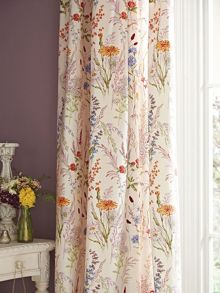 V&A Blythe meadow curtains 66x72 (168x183cm) multi