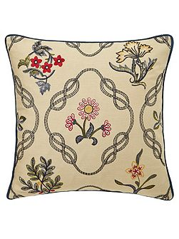 Morris & co strawberry thief cushion