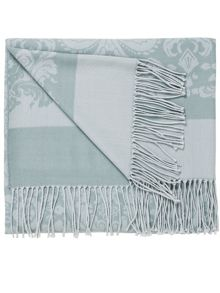 Repose throw 130x150cm+10cm duckegg
