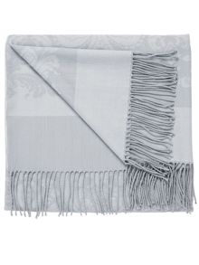 Repose throw 130x150cm+10cm grey