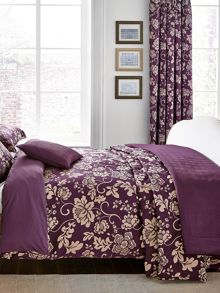 Asteria throw 260x265cm berry