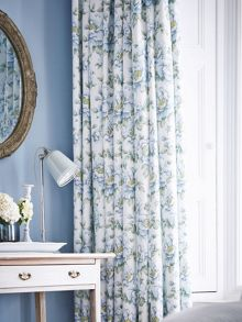Florence curtains 66x72 (168x183cm) blue