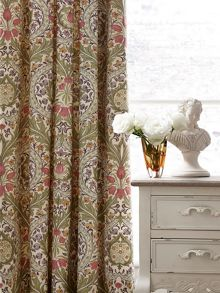 Brocatelle lined curtains 66x72