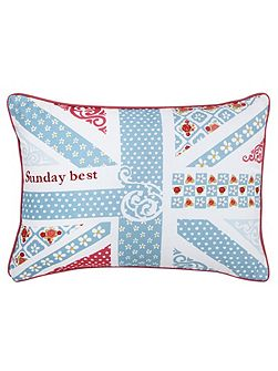 Sunday best cushion 30x40cm blue