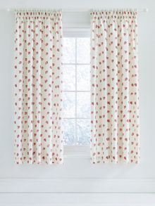 Heart & soul curtains 66x72 red