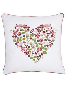 Mary rose cushion 40x40cm pink