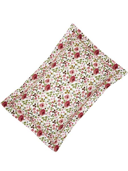 Julie Dodsworth Mary rose pillowcase oxford pink