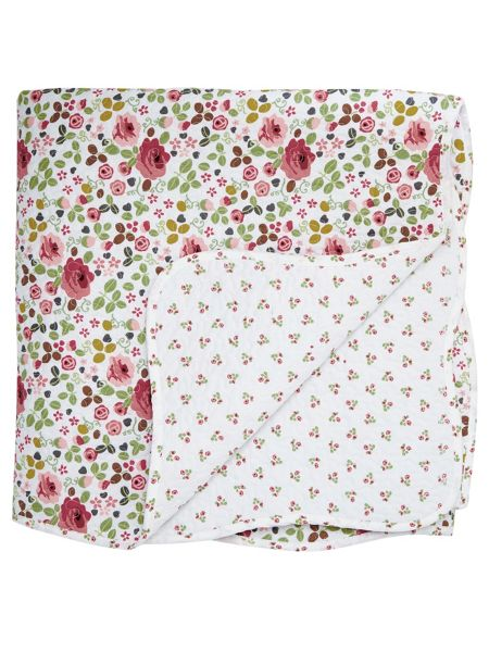 Julie Dodsworth Mary rose throw 230x265cm pink