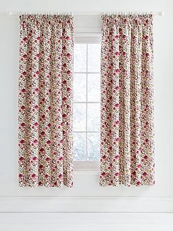 Mary rose curtains 66x72 pink