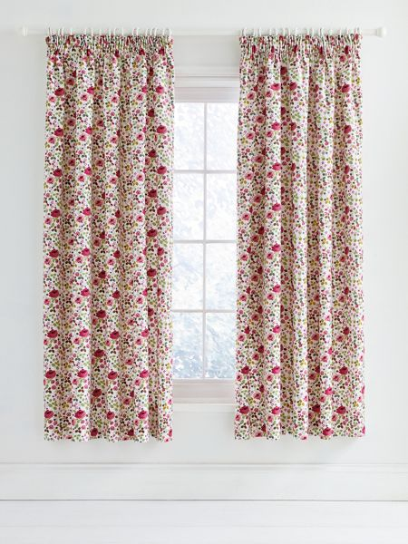 Julie Dodsworth Mary rose curtains 66x72 pink