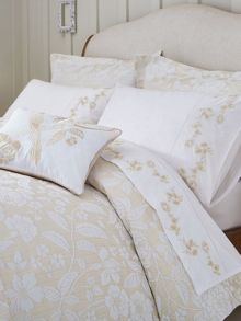 Sanderson Pyramus duvet cover single linen