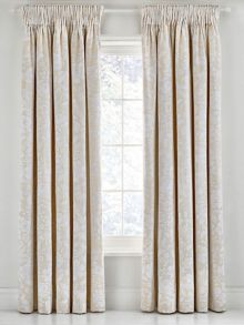 Sanderson Pyramus lined curtains 66 x 72 linen