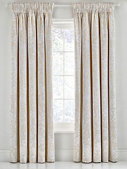 Pyramus lined curtains 66 x 72 linen