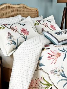Sanderson Clementine duvet cover single duck egg