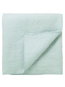 Sanderson Clementine throw one size duck egg