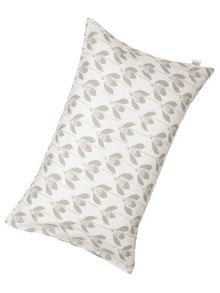 Snow drop housewife pillowcase parchment, pair