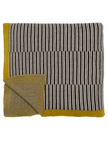 Harlequin Kaledio knitted throw 140x200cm calypso