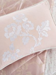 Viennese rose cushion 30x40cm pink