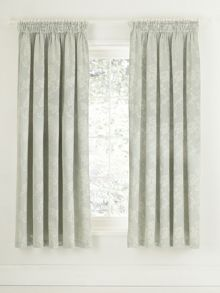 Viennese rose lined curtains 66x72