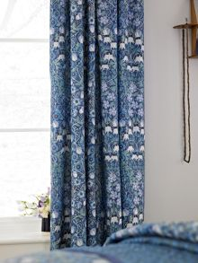Columbine curtains 66x72 blue
