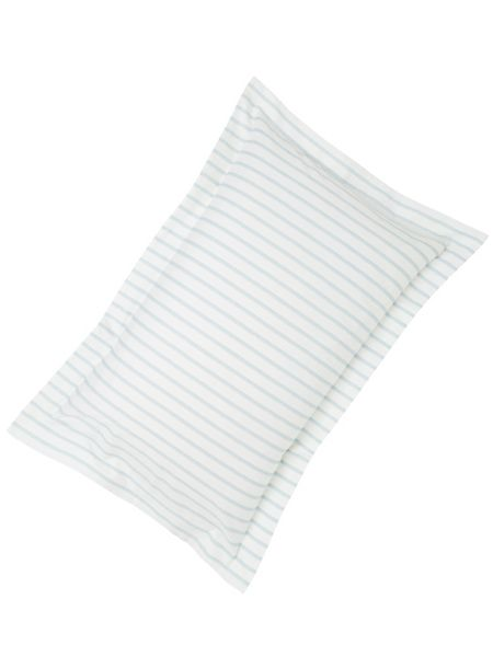 Fable Ellis stripe oxford pillowcase duck egg