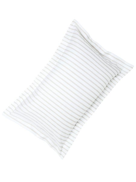 Fable Ellis stripe oxford pillowcase linen