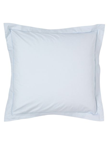 Fable Fable square oxford pillowcase sky blue